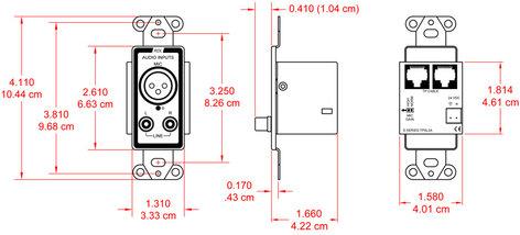 Radio Design Labs D-TPSL2A Active Two Pair Sender D-TPSL2A