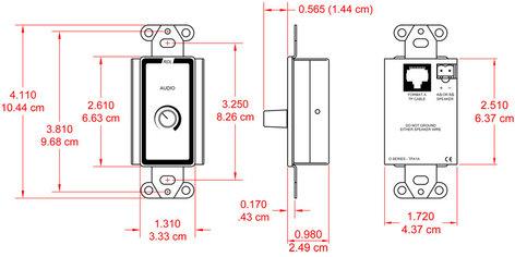 RDL D-TPA1A 3.5W Power Amp, Format-A D-TPA1A