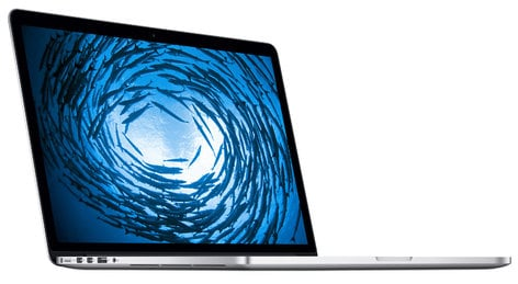 Apple 15-inch MacBook Pro with Retina Display with 2.2GHz Quad-Core i7 Processor, 256GB SSD, and 16GB RAM MBPRO-15.4/2.2/256/F