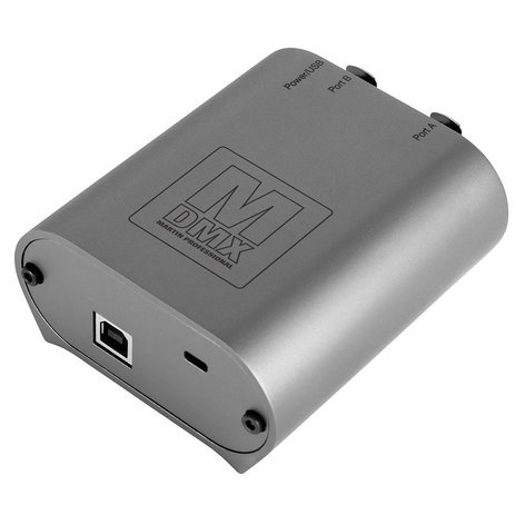 Elation Pro Lighting M-DMX / M-PC 2U DMX Software Controller Interface 90737070