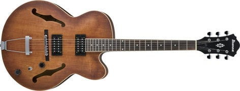 Ibanez AF55TF Artcore Full-Hollow Body Electric Guitar with HH Pickup Configuration, Tobacco Flat Finish AF55TF
