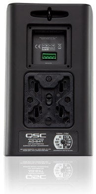 """QSC AD-S4T 4"""" 2-Way AcousticDesign Speaker with Transformer AD-S4T-BLACK"""