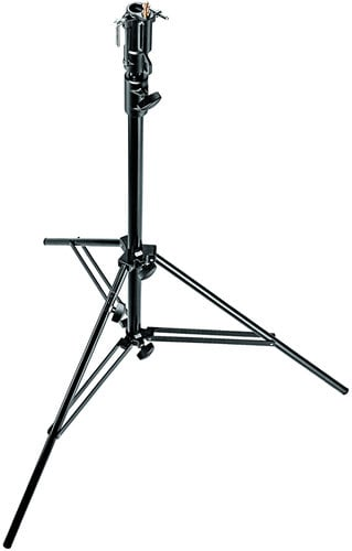 Manfrotto Heavy Duty Black Light Boom Arm with 008BU Stand and Casters 085BS