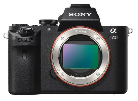 Sony a7R II 42.4MP 4K Full-Frame Mirrorless Camera Without Lens in Black ILCE-7RM2/B