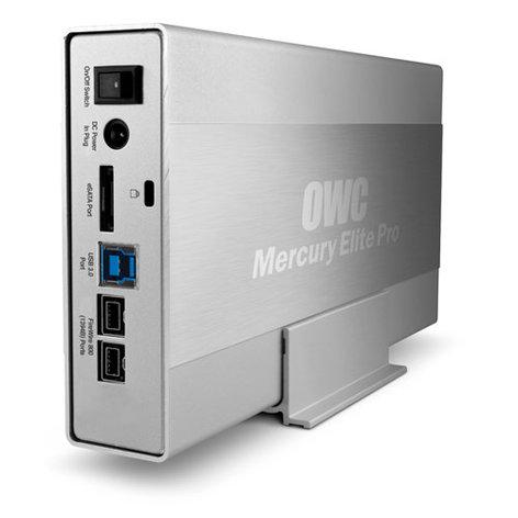OWC OWCME3QH7T3.0 Mercury Elite Pro 3.0TB 7200RPM USB 3.0/FireWire 800/eSATA External Hard Drive, 64MB Cache OWCME3QH7T3.0