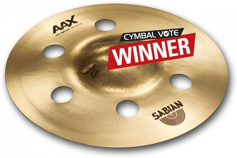 """Sabian AAX 10"""" Air Splash Cymbal 21005XA"""