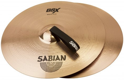 """Sabian B8X 1 Pair of 14"""" Band Cymbals 41422X"""