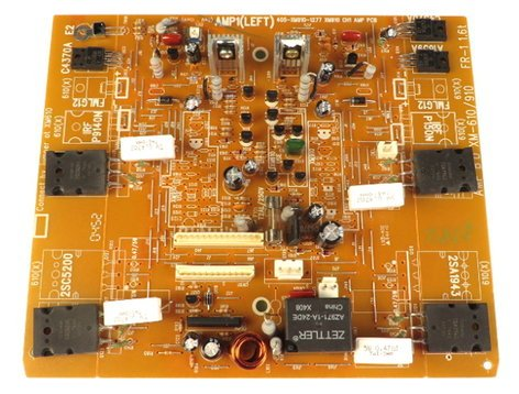 Samson 7-704-XM610-3355 Channel 1 Left Amp PCB Assembly for XM610 7-704-XM610-3355