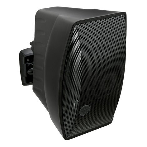 "SoundTube SM590I-II-WX-BK 5.25"" High Power Coaxial Surface Mount Speaker with Weather-Resistant Finish SM590I-II-WX-BK"