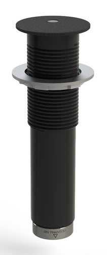 "Earthworks IMB30-B 1.43"" Semisphere Boundary Microphone, Black IMB30-B"