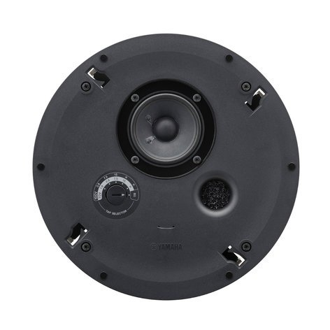 "Yamaha VXC3F 3.5"", Full-Range Ceiling Speaker, Black VXC3F"
