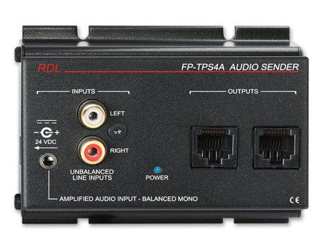 Radio Design Labs FP-TPS4A  Format-A 2-Pair Audio Sender  FP-TPS4A