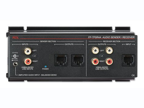 Radio Design Labs FP-TPSR4A  Two-Pair Audio Send/Rec, Format-A FP-TPSR4A