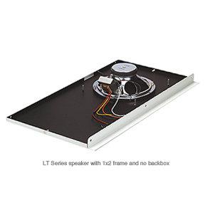 """Lowell LT-810 8"""", 1x2 Speaker System for Tile Ceilings, White LT810"""