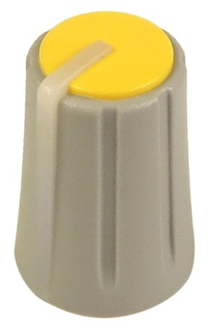 Allen & Heath AJ2079 Yellow Rotary Knob for GL2000 AJ2079