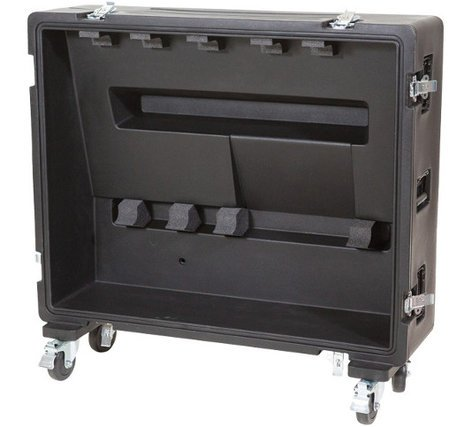 SKB Cases 1RMTF5-DHW Roto-Molded Flight Case with Wheels for Yamaha TF5 Mixer 1RMTF5-DHW