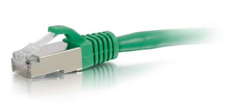 Cables To Go 00827 3 ft CAT6 Snagless Shielded (STP) Network Patch Cable, Green 00827