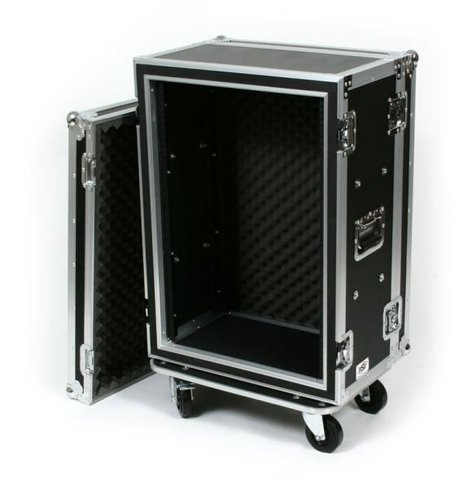 Elite Core Audio OSP SC16U-12 16-Space ATA Shockmount Rack Case with Casters SC16U-12
