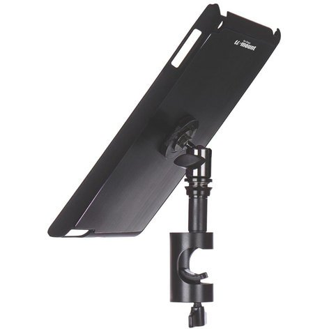 On-Stage Stands TCM9161B  Snap-On iPad Cover/Mount with u-mount in Black TCM9161B