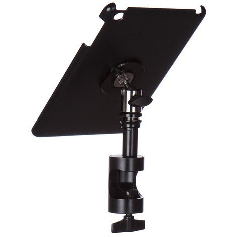 On-Stage Stands TCM9261  Snap-On iPad Mini Cover/Mount with Round Clamp and u-mount TCM9261