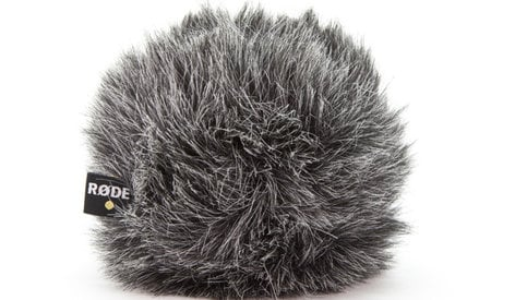 Rode WS8 Deluxe Windshield for NT5/NT55/NT6 WS8-RODE
