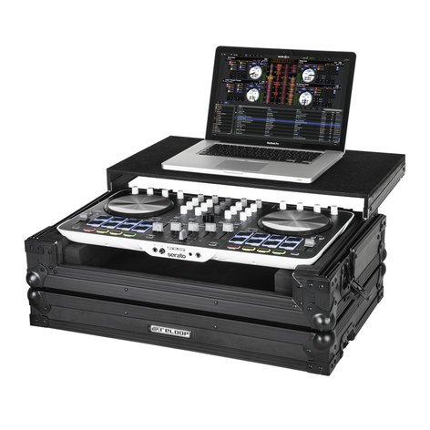 Reloop Beatmix 4 Case Flight Case with Laptop Tray BEATMIX-4-CASE