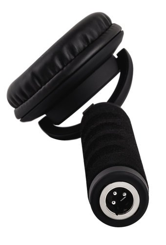 Reloop RHP-10 Mono Single-Ear DJ Headphone with Detachable Coiled Cable RHP-10-MONO