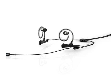 DPA HE2B-IE2-B  d:fine Dual In-Ear Broadcast Headset Mount, Black HE2B-IE2-B