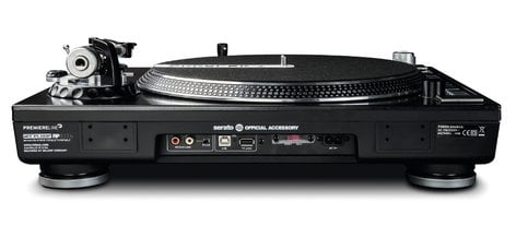 Reloop RP-8000 Straight Direct-Drive Turntable with Straight Tone Arm, USB, and Drum Pads RP-8000-STR