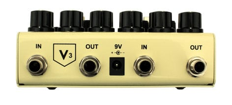 Truetone V3 Route 66 Stereo Overdrive and Compression Guitar Pedal V3RT66