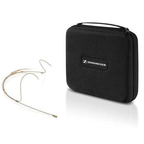 Sennheiser Speechline Headmic 1 Headworn Microphone, Dual Earhook, Black SL-HEADMIC-1-BK