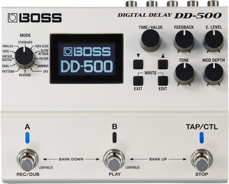 Boss DD-500 Digital Delay Pedal DD-500