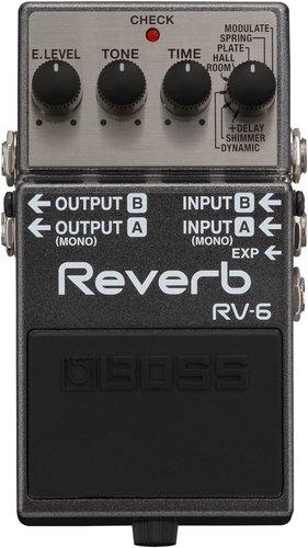 Boss RV-6 Reverb Pedal RV-6