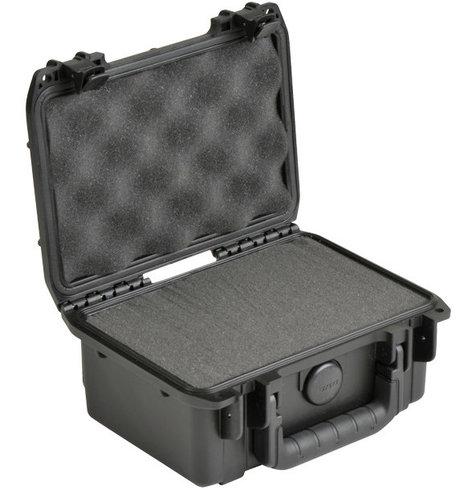 "SKB Cases 3I-0806-3B-C iSeries Waterproof Case with Cubed Foam Interior, 8.5""x6""x3.75"" 3I-0806-3B-C"