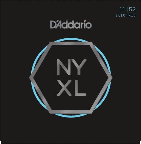 D`Addario NYXL1152 NYXL Series Nickel Wound Medium Top/Heavy Bottom Guitar Strings, 11-52 NYXL1152