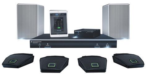 Sennheiser Team Connect Audio Conferencing System Package, Large Flex TEAM-CONNECT-L-FLEX