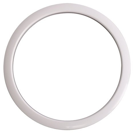 """Gibraltar SC-GPHP-6W  6"""" Bass Drum Port Hole Protector in White SC-GPHP-6W"""