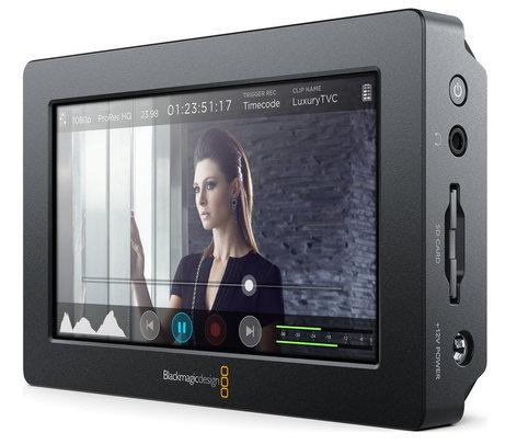 "Blackmagic Design Blackmagic Video Assist 5"" Full HD Touchscreen Field Monitor with 10-bit 4:2:2 Recorder BMD-HYPERD/AVIDAS5HD"