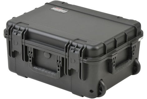 """SKB Cases 3I-1914-8B-L iSeries Waterproof Case with Layered Foam Interior and Wheels, 19""""x14.38""""x8"""" 3I-1914-8B-L"""