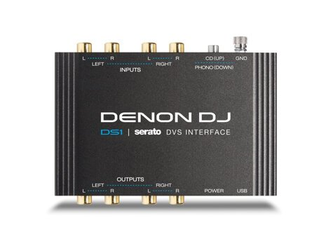Denon DS1 Digital Vinyl System for Serato DJ Software DS1-DENON