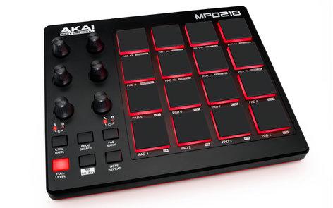 AKAI MPD218 USB-MIDI Pad Controller MPD218