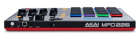 AKAI MPD226 USB-MIDI Pad Controller with RGB Backlit Pads MPD226