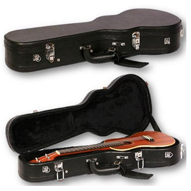 Kala Brand Music Co. Baritone BCB Baritone Ukulele Hardshell Case in Black BCB