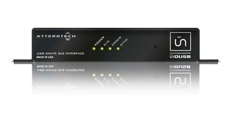 Attero Tech unDUSB 2x2 Channel Dante to USB Bridge UNDUSB