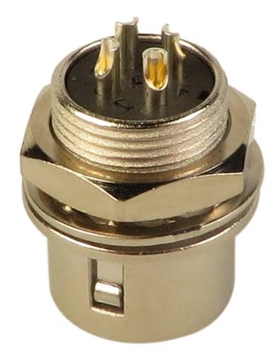 BTX Technologies HR10A-7R4P  Male 4-Pin Panel Mount Connector HR10A-7R4P