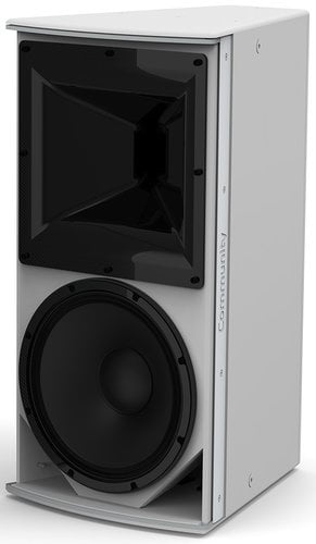 "Community IP6-1122/94 I Series 12"" 2-Way 600W (8 Ohms) Passive/Bi-Amp Installation Loudspeaker in White with 90°x40° Dispersion IP6-1122/94W"