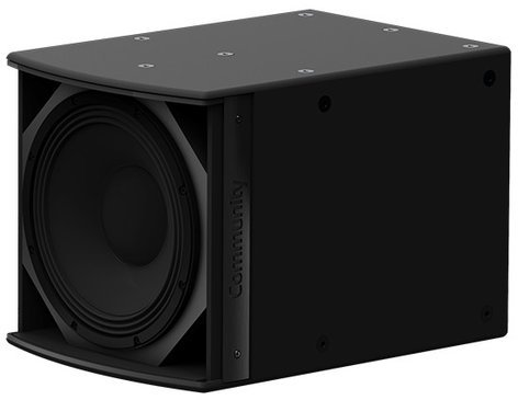 "Community IS6-112 I Series 12"" 700W (8 Ohms) Passive Installation Subwoofer in Black IS6-112B"