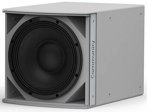 "Community IS6-112 I Series 12"" 700W (8 Ohms) Passive Installation Subwoofer in White IS6-112W"