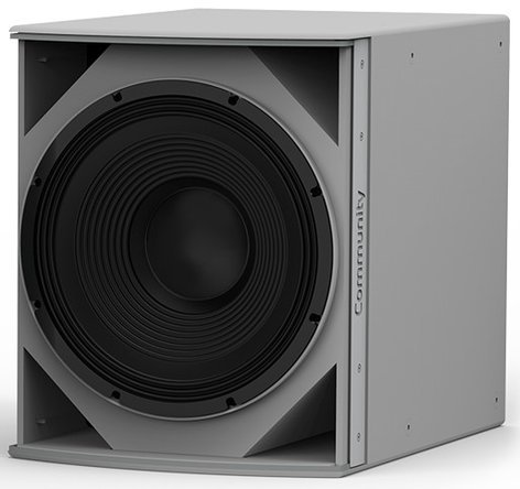 """Community IS6-115 I Series 15"""" 700W (8 Ohms) Passive Installation Subwoofer in White IS6-115W"""