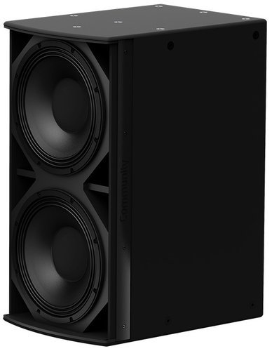 "Community IS6-212 I Series Dual 12"" 1400W (4 Ohms) Passive Installation Subwoofer in Black IS6-212B"